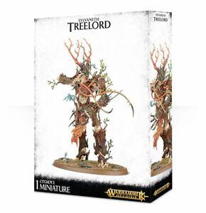 Treeman Antique / Durthu Le Wood Atelier de jeux avec les elfes Warhammer Âge de Sigmar