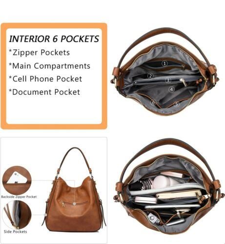 Details about  /Realer Shoulder Bags Handbags For Women Large Ladies Crossbody Bag Faux Leather