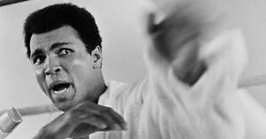 Muhammad Ali Portrait Art Canvas Boxing Icon Sports Poster Print Cassius Clay