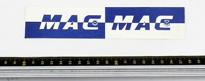 Mac Airlines - Baggage Tag - 1980s - Good Condition Elegant Appearance