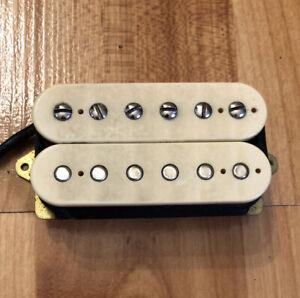 Vintage-80s-Dimarzio-DP103-PAF-Humbucker-Guitar-Pickup-Cream-Neck-Or-Bridge