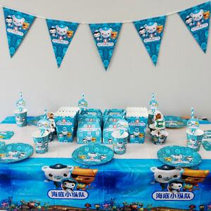 Octonauts Party Tableware