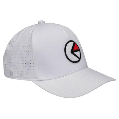 Low Crown Snapback Logo Cap Black White OSFA Ethika Athletic Dad Hat