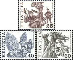 Schweiz-1280-1282-kompl-Ausg-gestempelt-1984-Volksbraeuche