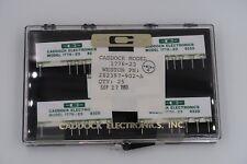 Lot Of 4 Caddock 1776 23 Precision Decade Resistor Voltage Dividers New