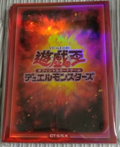 - official Card Sleeve Yugioh Japanese 70pcs Type Fire