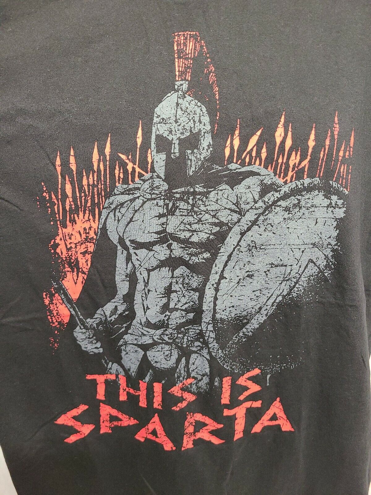 300 the Movie This is Sparta Adult Black 2XL TShi… - image 3