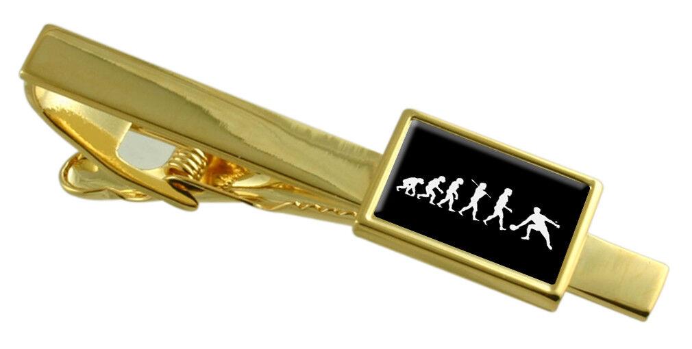 Evoluzione Scimmia Scimmia Scimmia a Man Tennis da Tavolo Colore oro Fermacravatta Select Regalo e37bc1