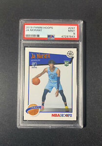 2019-20-NBA-Hoops-JA-MORANT-Tribute-Rookie-RC-297-PSA-9-MINT