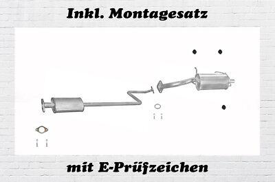 Mittelschalldämpfer Nissan Micra II K11 1,0 1,4 16V Auspuff