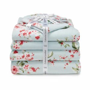 Catherine-Lansfield-Canterbury-Vintage-Cotton-6-Piece-Bath-Towel-Set-Duck-Egg