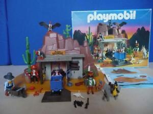 West Playmobil ******* Mine West spectaculaire dans sa boîte originale *****