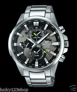 00c6449f3c62 EFR-303D-1A Black Casio Edifice Men s Watch Stainless Band Analog ...