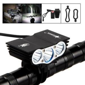 2X Recargable 4x18650 16000mAh Batería Para Luz SolarStorm X2 X3 Para Bicicleta