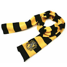 Harry Potter Hufflepuff Cosplay Knit Winter Warm Costume Scarf Wrap Fans Gift
