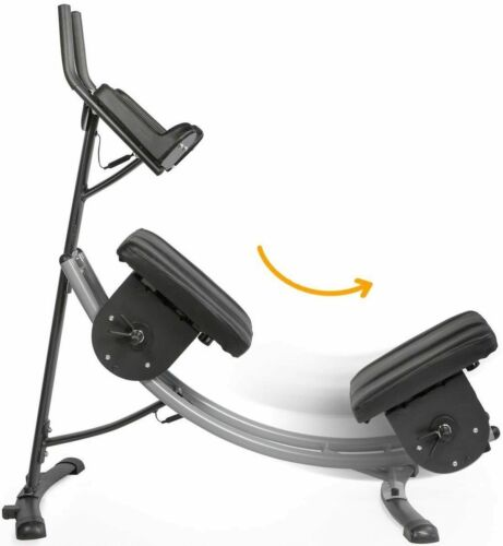XtremepowerUS Deluxe Abdominal Crunch Coaster Fitness Equipment Body Exercise