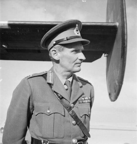 8 x 10 B/&W WWII Photo General Montgomery El Alamein  WW2 1082 8X10