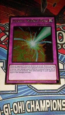 Yu-Gi-Oh Blazing Mirror Force-PGL3-EN100-Gold Rare-1st Edition NM