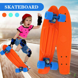 Complete-Fish-Skateboards-for-Beginners-Kick-Skate-Board-for-Boys-Girls-Kids