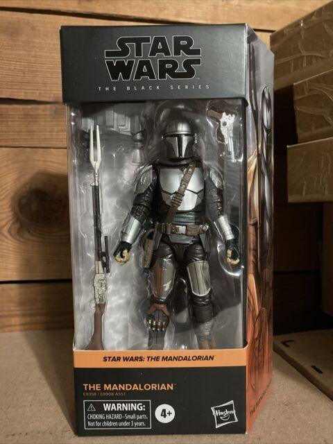 Star Wars Black Series The Mandalorian Beskar Armor Figure New Din Djarin