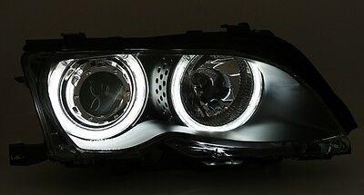 Scheinwerfer Blinker Set 3er E46 98-01 Limousine Touring CCFL Angel Eyes