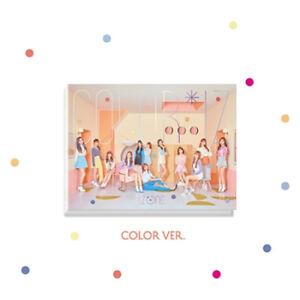 Details about IZONE [COLOR*IZ] 1st Mini Album COLOR Ver CD+Photo Book+Card  IZ*ONE K-POP SEALED