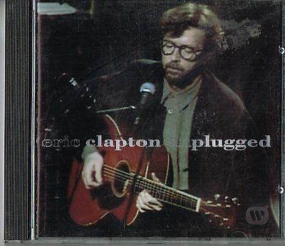 Eric Clapton Unplugged Cd Mtv English Rock Blues Singer Guitarist Hall Of Famer Ebay