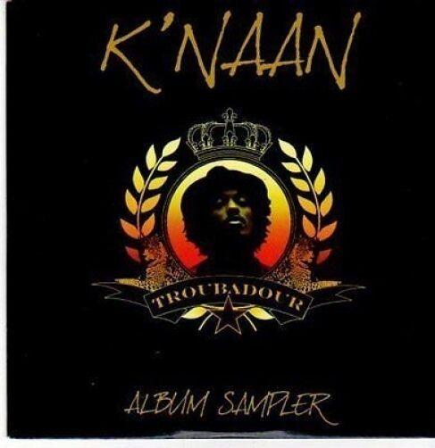 (CE853) K'Naan, Troubadour album sampler - 2009 DJ CD