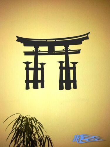 Wandtattoo Torii Japanische oracal MATT Tore Deko Geschenkidee Japan Tokio Tor