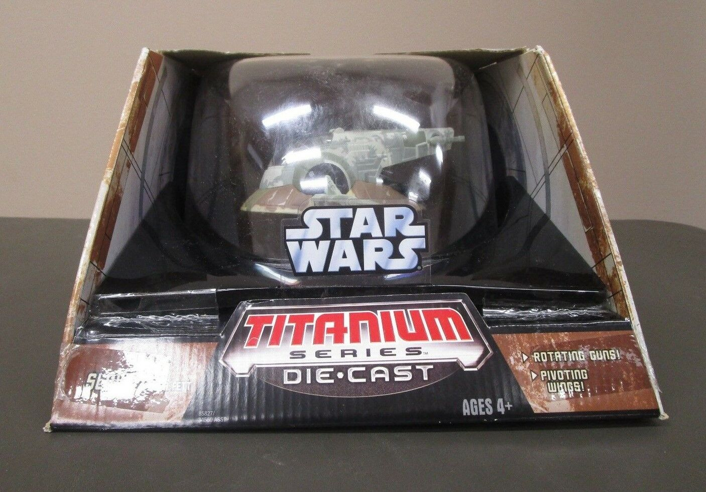 Boba Fett Slave 1 2006 STAR WARS Titanium Series Die Cast MIB 7 Large Ultra