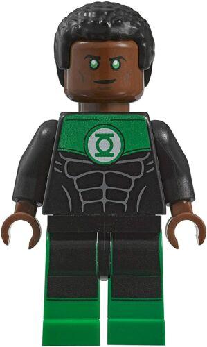 Genuine LEGO DC Super Heroes Green Lantern John Stewart Minifigure Rare UK Stock
