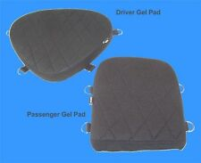 Motorcycle Driver & Passenger Seat Gel Pad Set for Yamaha V-Star 650 Models