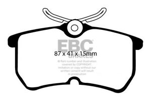 05 Ultimax Brake Mk1 170 Bhp Pads 2 Ebc 2002 St170 Focus Rear For Ford 0 qf6SnHxw1
