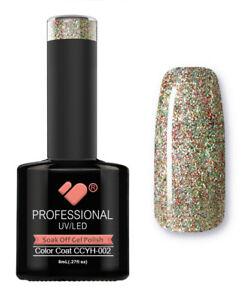 CCYH-002-VB-Line-Galaxy-Green-Red-Gold-UV-LED-soak-off-gel-nail-polish