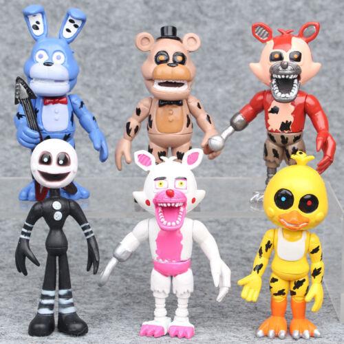Five Nights At Freddy /'Freddy chica Foxy Bonnie Antiguos Figuras De Acción De Juguete De Niño