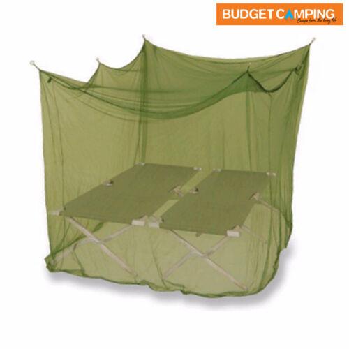 SUPEX DOUBLE BOX STYLE MOZZIE NET Green Or White