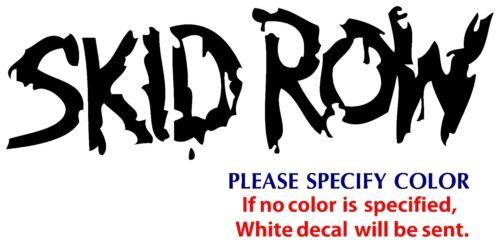 "Skid Row Metal Music Rock Band Funny JDM Vinyl Sticker Decal Car Window Wall 7/"""