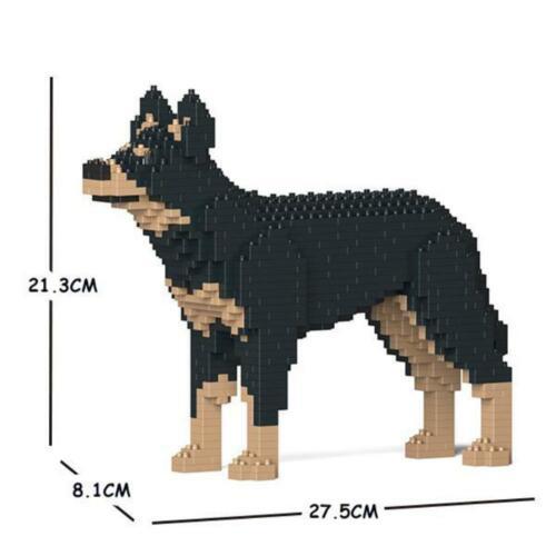 JEKCA Animal Buildin Blocks Kit for Kidults Australian Kelpie 01S-M01