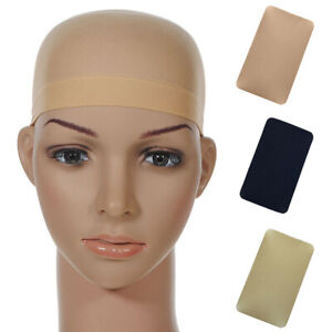 PW-GT-2PCS-Solid-Color-Unisex-Stretch-Wig-Liner-Caps-For-Making-Wigs-Glueles