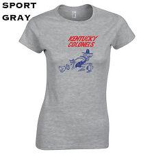317 Kentucky Colonel Womens T-Shirt basketball 70s hoops bball jersey louisville