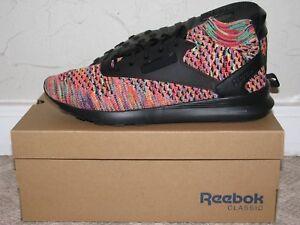 0a03f3a056fa Image is loading Reebok-Zoku-Runner-Ultraknit-Multicolor-Black-Mens-Size-