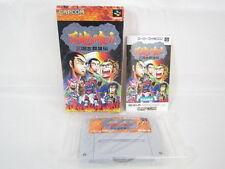TENCHI WO KURAU Sangokushi Super Famicom Nintendo Capcom Japan Boxed sf