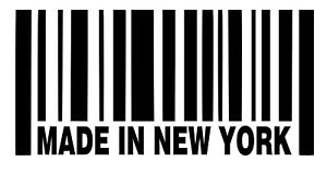 Made-In-New-York-Barcode-Vinyl-Sticker-Decal-NY-Choose-Size-amp-Color