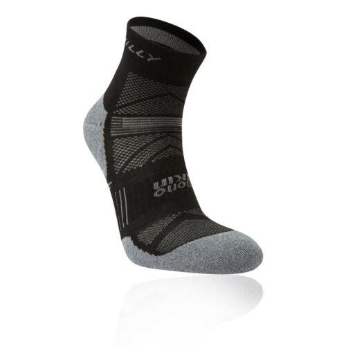 Hilly Unisex Supreme Anklet Black Sports Running Breathable