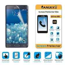 3x PELLICOLA PROTETTIVA per Samsung Galaxy Note Edge N915 FRONTE + PANNO