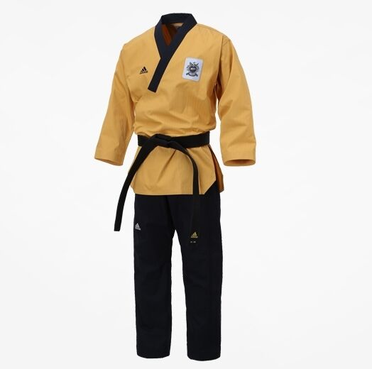 Dan Dobok WTF Korean Adidas TaeKwonDo Poomsae Uniform High Dan Master Uniforms y