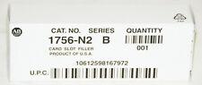 New Listing Allen Bradley 1756 N2 B Controllogix Empty Slot Filler Card Qty