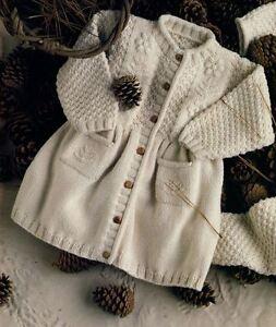 a1c76ba8d3a4 Knitting Pattern Baby Child s Gorgeous DK Dress Coat 6 months - 2 ...