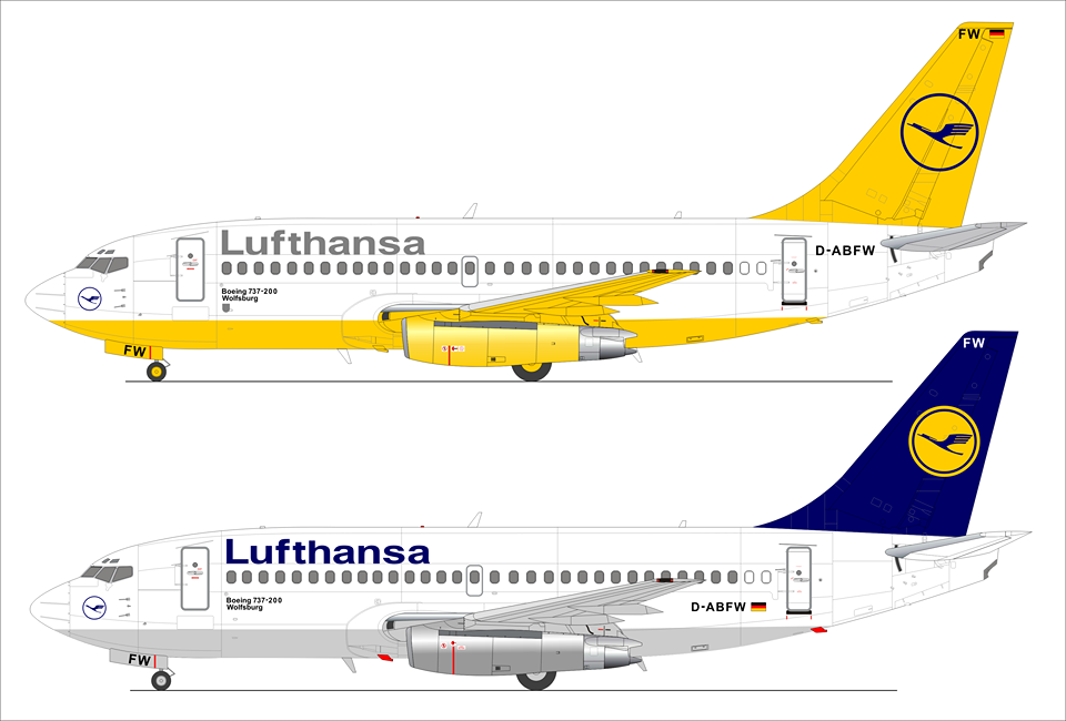 Aircraft  Boeing 737-100 Plastic Model Kit BPK 7201-1//72