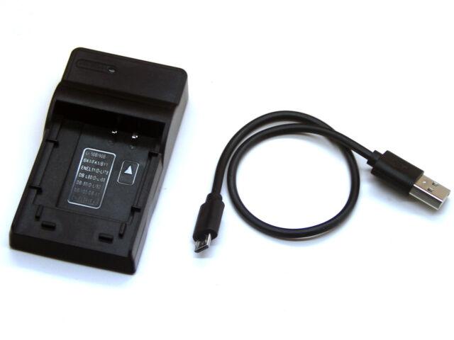 Batería de la Cámara Li-60B Li60B Cargador para Olympus C-575 FE-370 X-880 EN-EL11